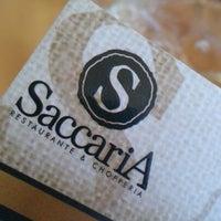 Photo taken at Saccaria Chopperia e Restaurante by Gibran E. on 1/27/2013