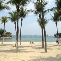 Photo taken at Palawan Beach by Sonya on 6/29/2013