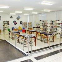 Photo taken at Biblioteca Roberto Santos by Dan on 11/6/2013