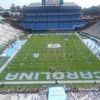 Photo taken at Kenan Memorial Stadium by Captain R. on 10/6/2012