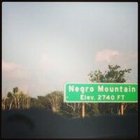 Photo taken at Negro Mountain by Tia P. on 9/2/2013