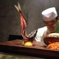 Photo taken at Blue Ribbon Sushi by Blake S. on 10/11/2012