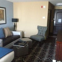 Photo taken at Holiday Inn Express & Suites Kansas City Airport by Brent W. on 7/10/2013