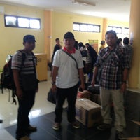 Photo taken at Bandara Kol. RA. Bessing Malinau by Hariadi P. on 6/28/2013