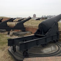 Photo taken at Fort McHenry National Monument and Historic Shrine by Olivia T. on 2/7/2013