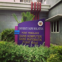 Photo taken at School of Computer Sciences by Faizal R. on 2/8/2013