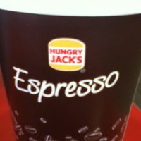 Photo taken at Hungry Jacks by onemon 2. on 2/11/2013
