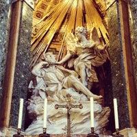 Photo taken at Chiesa di Santa Maria della Vittoria by Sergey R. on 5/3/2013