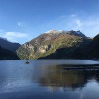 Photo taken at Geirangerfjorden by Ece A. on 10/4/2016