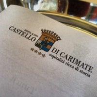 Foto scattata a Castello di Carimate Hotel da Michele F. il 11/5/2013