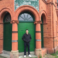 Photo taken at Salford Lads Club by Stephen J. on 6/17/2016