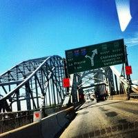 Photo taken at Pont Honoré-Mercier by Ninoska E. on 6/15/2013
