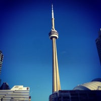 Photo taken at CN Tower by Stephanie H. on 1/1/2013