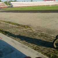Photo taken at Stadium Sungai Besar by Nurul F. on 12/30/2015
