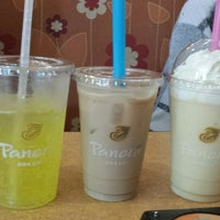 Photo taken at Panera Bread by Karina G. on 5/10/2014