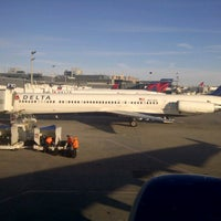 Photo taken at Gate E5 by Sean W. on 3/1/2013