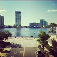 Photo taken at Hyatt Regency Jacksonville Riverfront by Eric L. on 10/12/2012