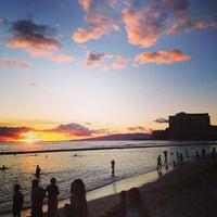 Photo taken at Aston Waikiki Beach Hotel by OSAFUNE M. on 9/17/2013