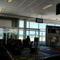 Photo taken at Gate G13 by Brian E. on 7/29/2015