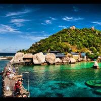 Photo taken at Koh Nang Yuan Dive Resort by  Vasit B. on 10/4/2012