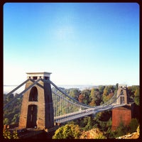 Photo taken at Clifton Suspension Bridge by Andrew M. on 10/14/2012