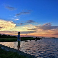 Photo taken at Neches River by Visit Beaumont, TX on 9/7/2013
