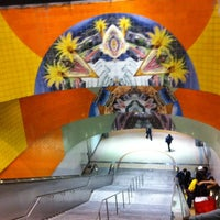 Photo taken at North Hollywood Metro Station by LT X. on 11/28/2012
