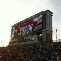 Photo taken at Williams-Brice Stadium by Edgar Larrea on 9/15/2012