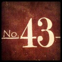 Photo taken at Grille No. 43 by Aleksandar J. on 2/9/2013