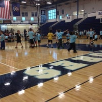 Photo taken at Mona Shores High School by Meghan S. on 12/1/2012