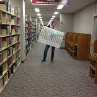 Photo taken at AU – Bender Library by Joshua L. on 9/27/2012