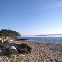 Photo taken at Crescent Beach by Ben J. on 9/18/2012