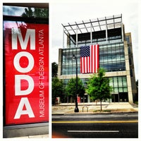 Photo taken at Museum of Design Atlanta (MODA) by WETSU76 J. on 7/7/2013