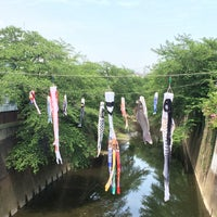 Photo taken at 観音橋 by cima5963 h. on 5/6/2015