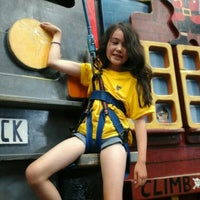 Photo taken at Extreme Edge Indoor Rock Climbing by Julia L. on 1/4/2016