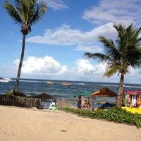 Photo taken at Praia do Francês by Cibele T. on 7/8/2013