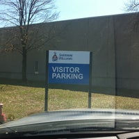 Photo taken at Sherwin Williams Plant by Jodie S. on 4/2/2013