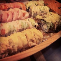 Photo taken at Fusion Sushi by Shannon H. on 1/9/2013