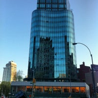 Photo taken at Astor Place by Susan C. on 4/27/2013