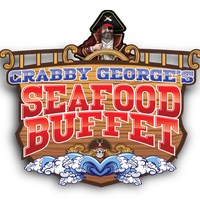 Photo taken at Crabby George's Seafood Buffet by Crabby G. on 6/1/2015
