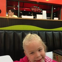 Photo taken at MOOYAH Burgers, Fries & Shakes by Andy A. on 12/18/2012