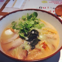 Photo taken at Wagamama by Akiko H. on 10/26/2012