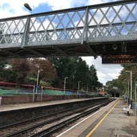 Photo taken at Fulwell Railway Station (FLW) by Jacques on 10/2/2016