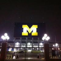 Photo taken at Michigan Stadium by Chris F. on 11/10/2012