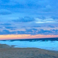 Photo taken at 81st Street Beach by E. Bunny on 9/24/2014
