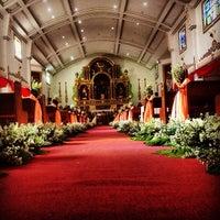 Photo taken at San Guillermo Parish Church by Joemel M. on 4/20/2013