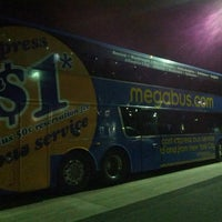 Photo taken at Megabus stop by Ivy Agnes N. on 8/9/2013