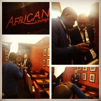 Photo taken at African Lounge by Alexis O. on 3/7/2013
