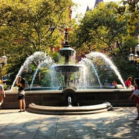 Photo taken at City Hall Park by Mike C. on 9/17/2012