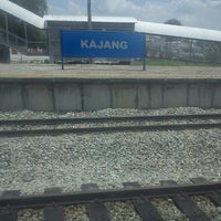 Photo taken at KTM Line - Kajang Station (KB06) by Syah M. on 4/20/2013